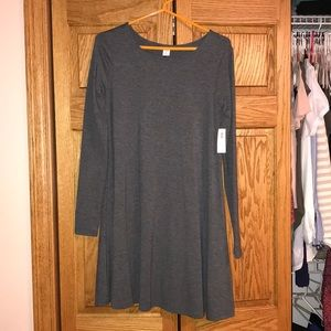 Long sleeve Old Navy Gray Dress